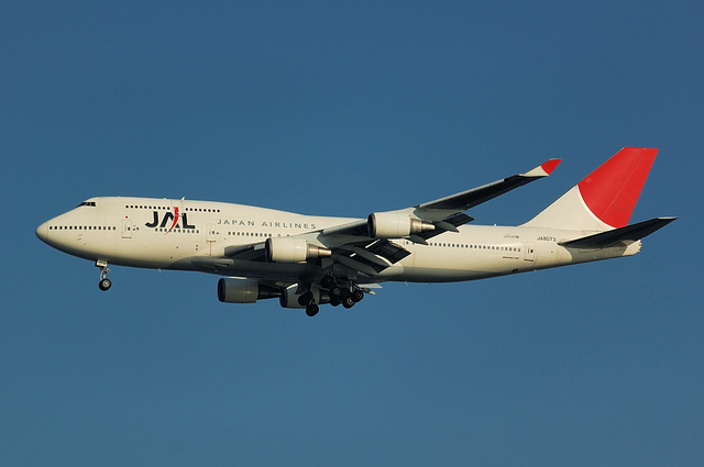 JAL Boeing747-400 1