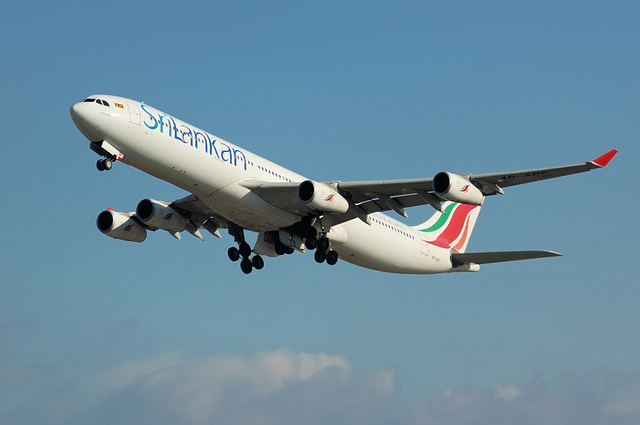 SriLankan Airlines Airbus A340-300