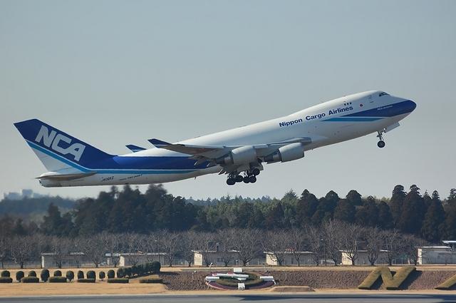 NCA Boeing747-400F Take Off