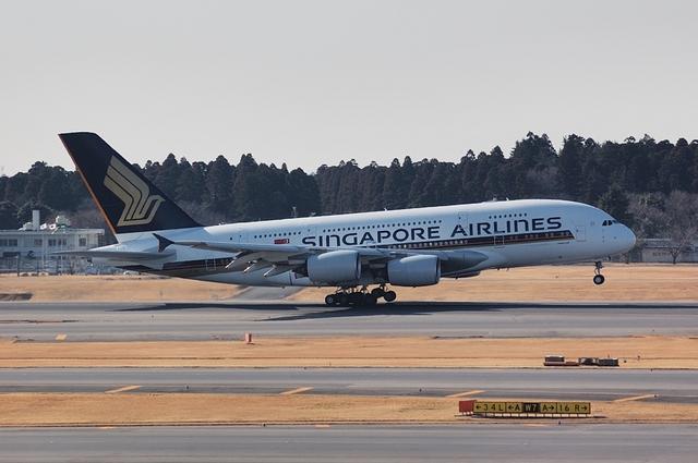 SQ Airbus A380 2