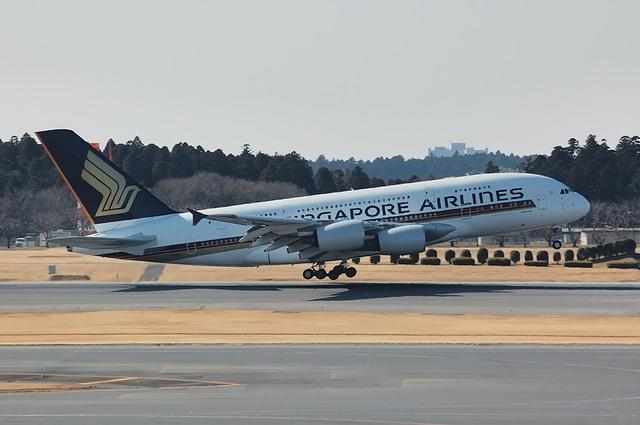 SQ Airbus A380 3