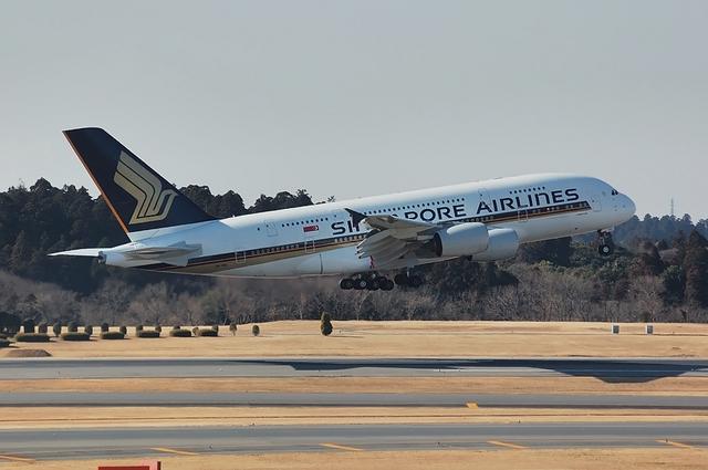 SQ Airbus A380 4