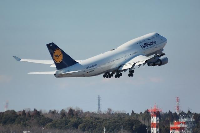 Lufthansa Boeing747-400 5