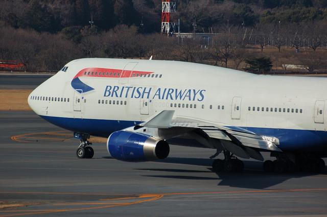 BA Boeing747-400 1