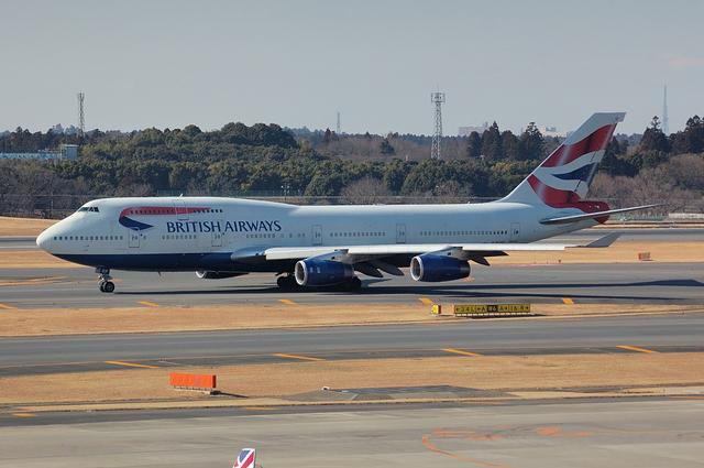 BA Boeing747-400 2