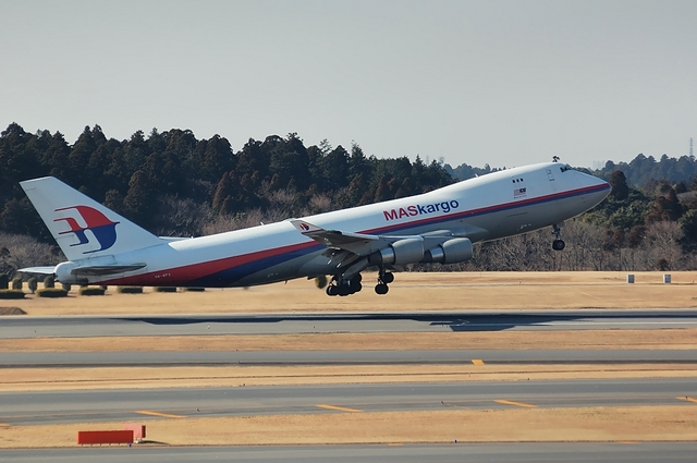 MAS Boeing747-400F Take Off