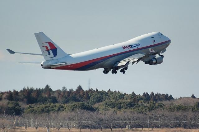 MAS Boeing747-400F Climb