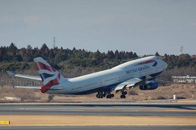 BA Boeing747-400 3