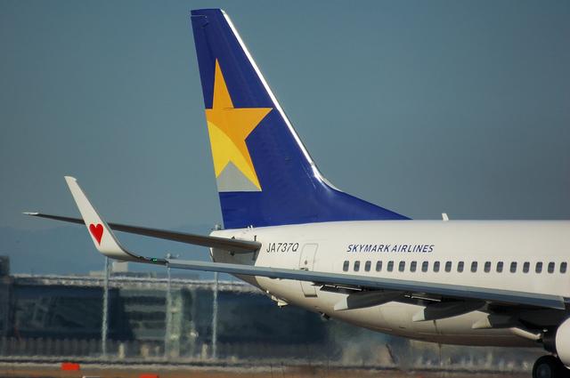 SKYMARK Boeing737-800 3