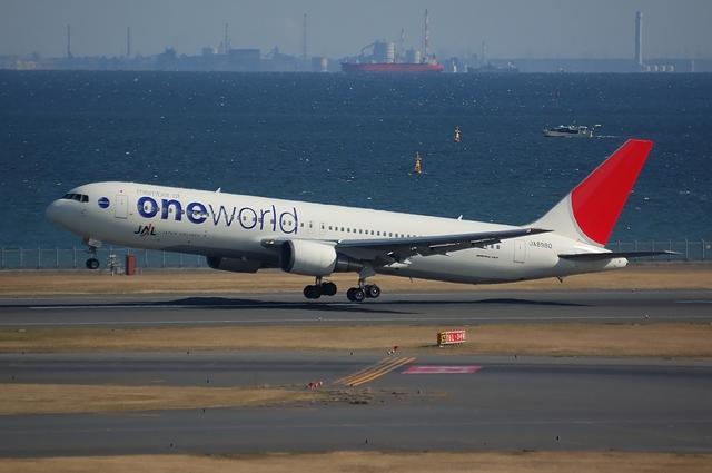 ONE WORLD Boeing767-300 1
