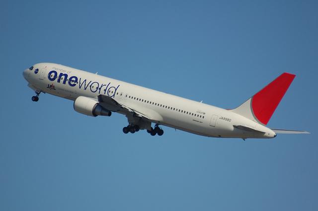 ONE WORLD Boeing767-300 3