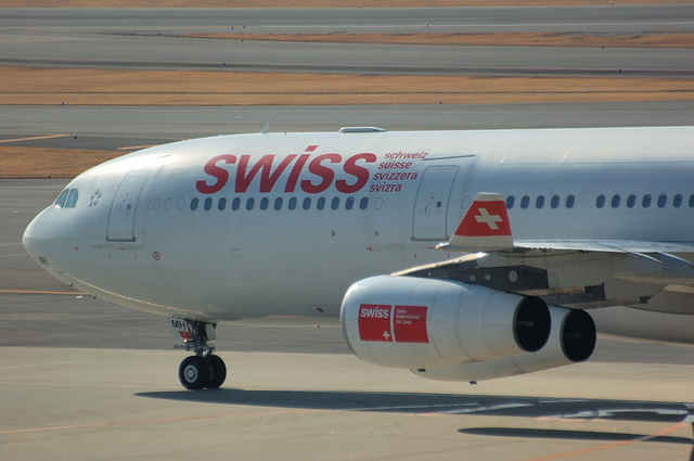 Swiss International Airlines Airbus A340-300 1