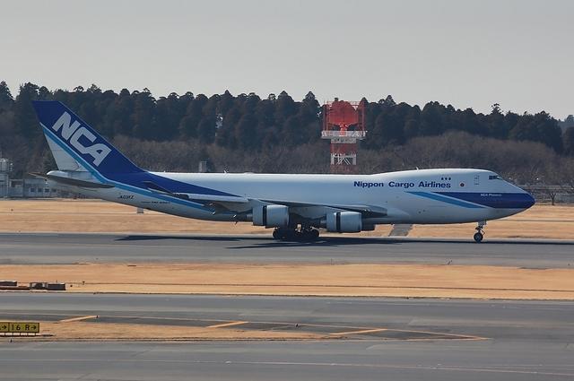 NCA Boeing747-400F Landing