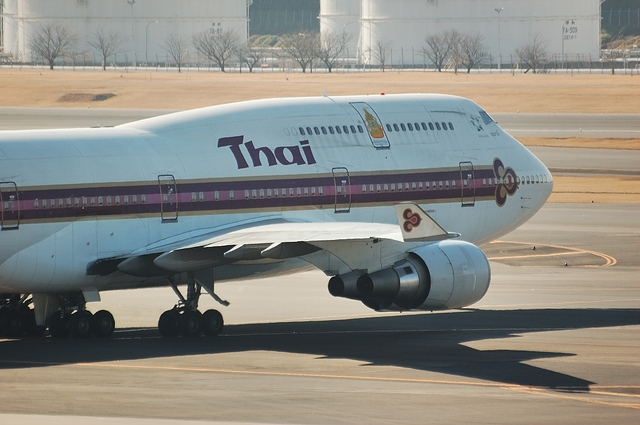 Thai Airways Boeing747-400 1