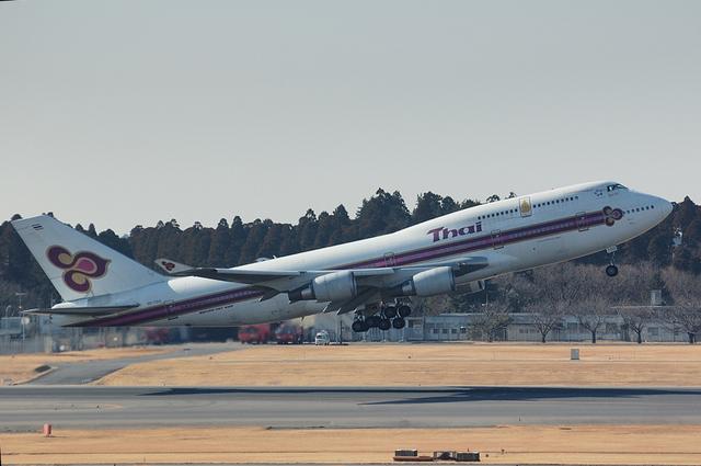Thai Airways Boeing747-400 2