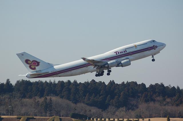Thai Airways Boeing747-400 3