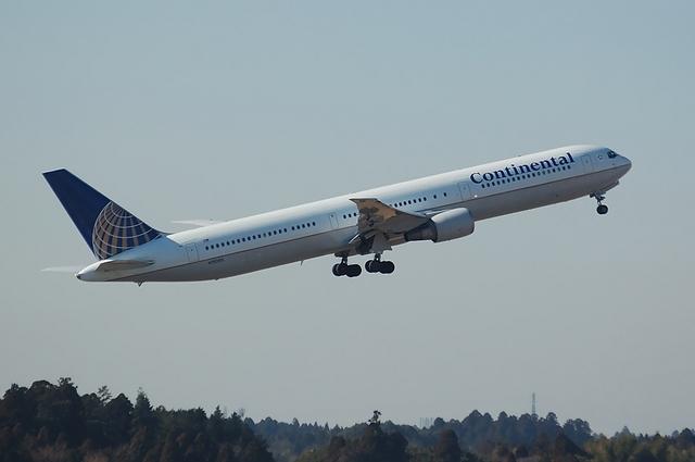 CONTINENTAL Boeing767-400ER 4