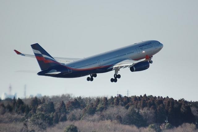 Aeroflot A330 Climb