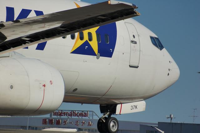 SKYMARK Boeing737-800 アップ