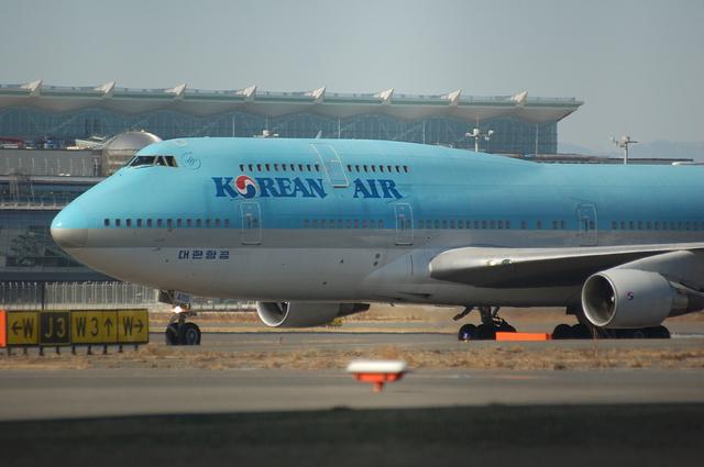 Korean Air Boeing747-400 1