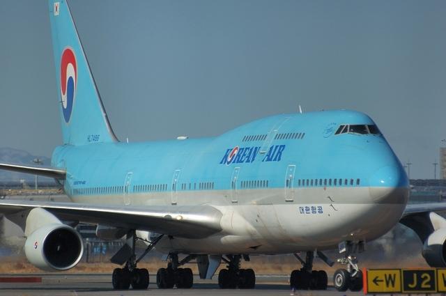 Korean Air Boeing747-400 2