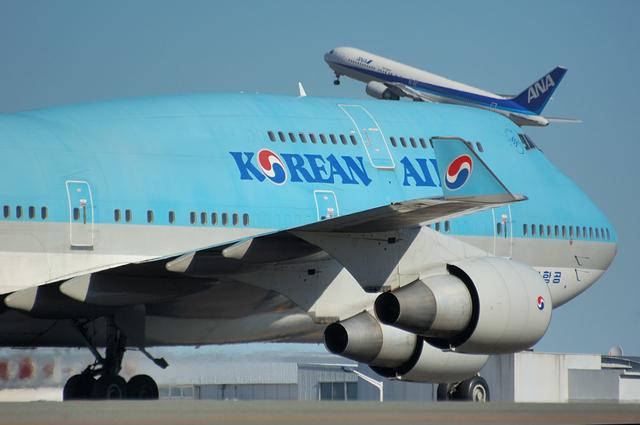 Korean Air Boeing747-400 3