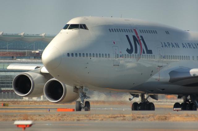 JAL Boeing747-400D 1
