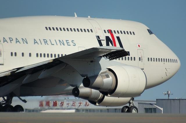 JAL Boeing747-400D 5