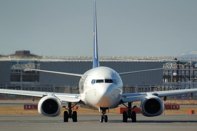 SKYMARK Boeing737-800 正面