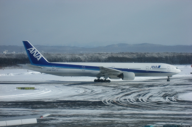 Boeing777 Taxi to runway
