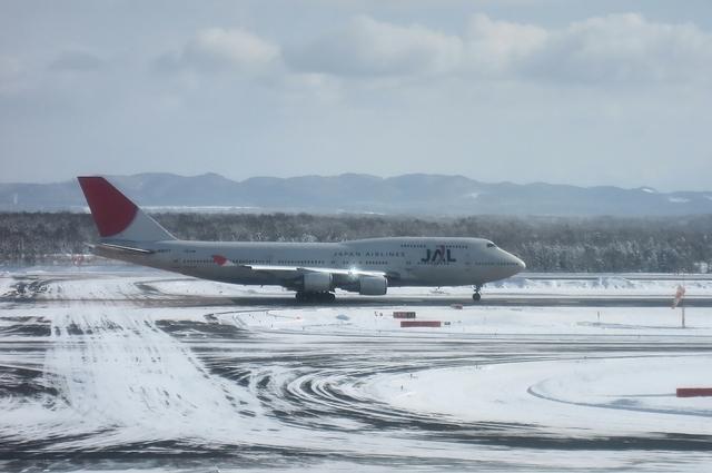 JAL Boeing747-400(JA8077)