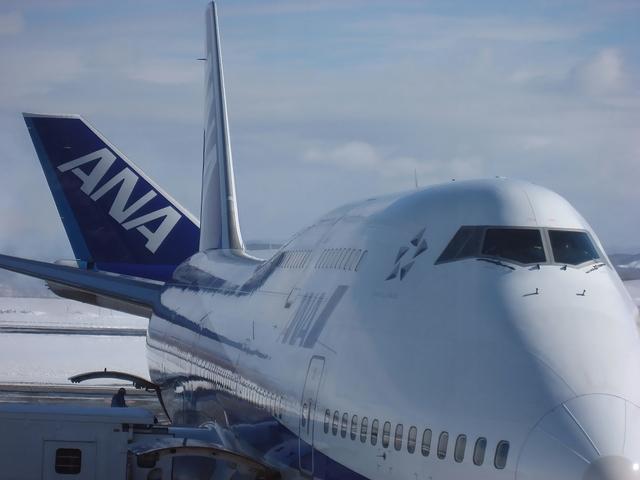 ANA Boeing747-400D(JA8961)