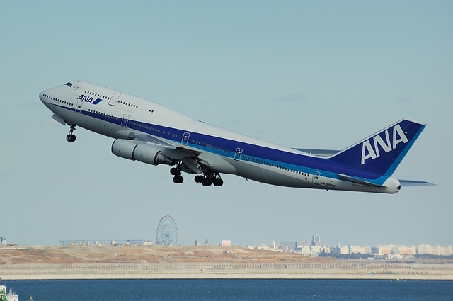 Boeing747-400Dの雄姿