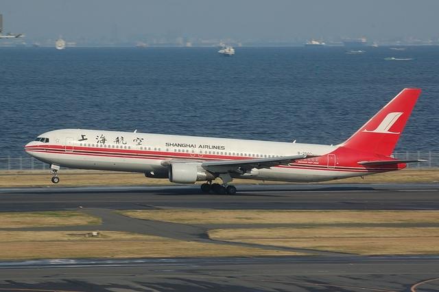 上海航空のBoeing767-300ER ローテーション