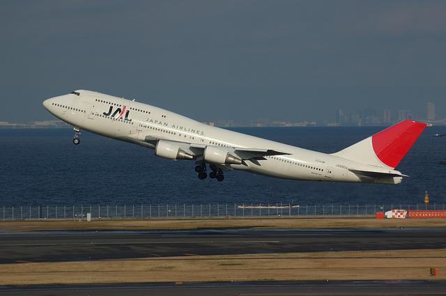 JA8904 Take off
