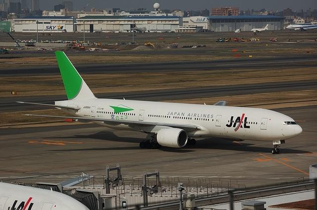 JALのエコジェット スポットイン