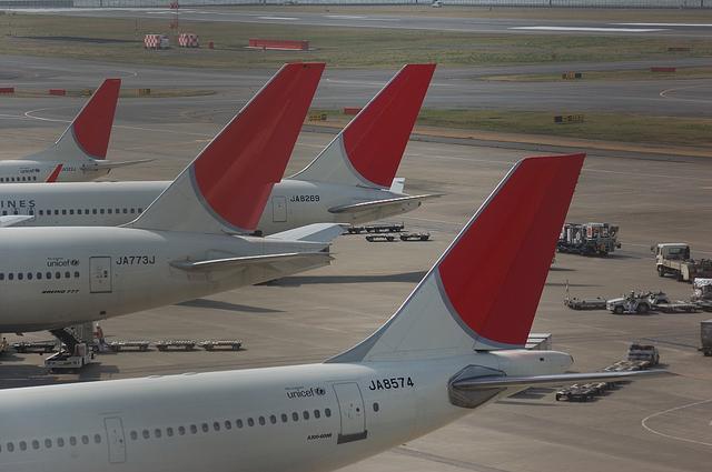日本航空の飛行機達