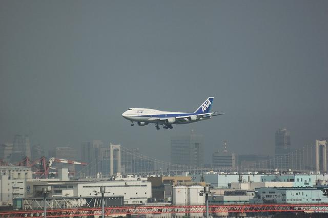 ANA Boeing747-400D