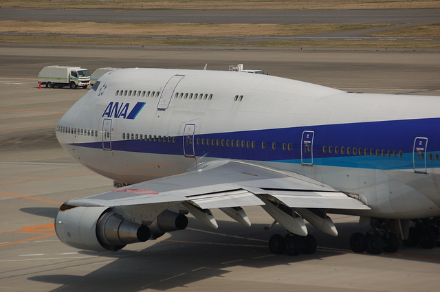ANA Boeing747-400(JA8959)