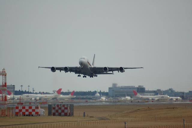Airbus A380 離陸