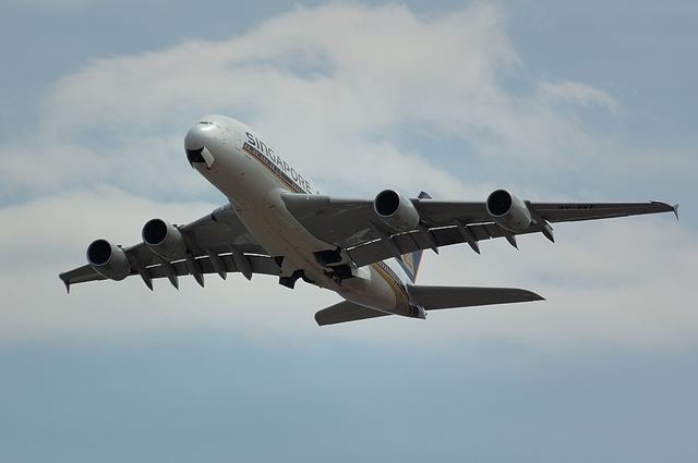 Airbus A380 Gear Up