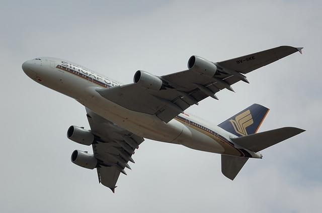 Airbus A380 Climb