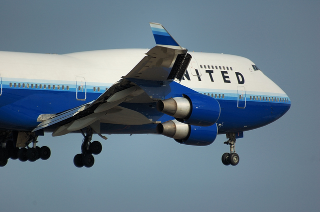 UNITED AIRLINES Boeing747-400 4