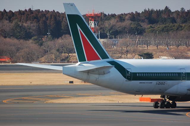 Alitalia Boeing777-200ER 6
