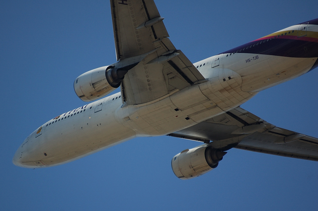 タイ国際航空のBoeing777-200 1