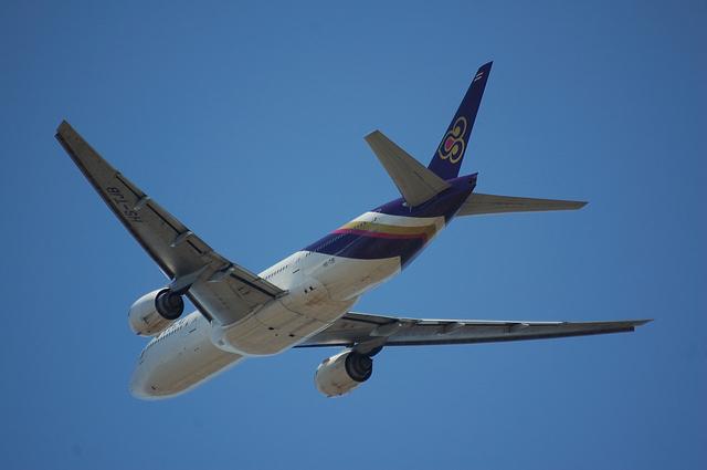 タイ国際航空のBoeing777-200 2