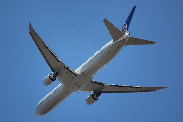 コンチネンタル航空のBoeing767-400ER 2