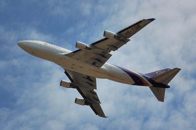 タイ国際航空のBoeing747-400 2