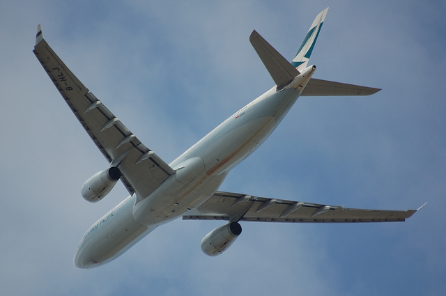 CATHAY PACIFIC Airbus A330-300 Take Off 3