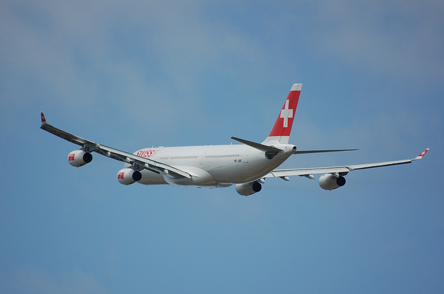 Swiss International Airlines Airbus A340-300 5